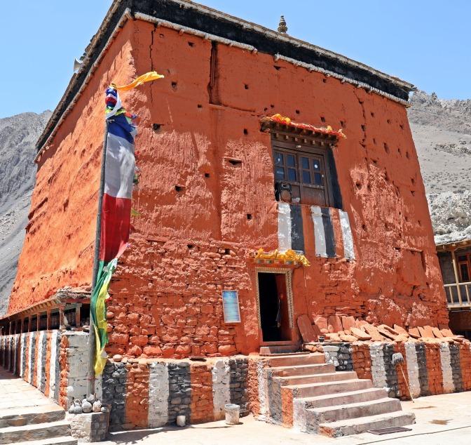 Old Gumba (Monastery) in Kagbeni