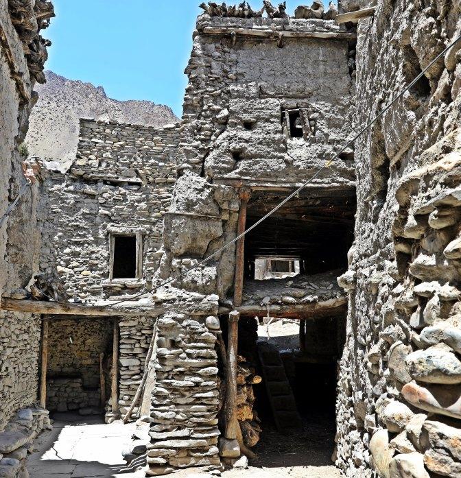 Typical homes of Kagbeni