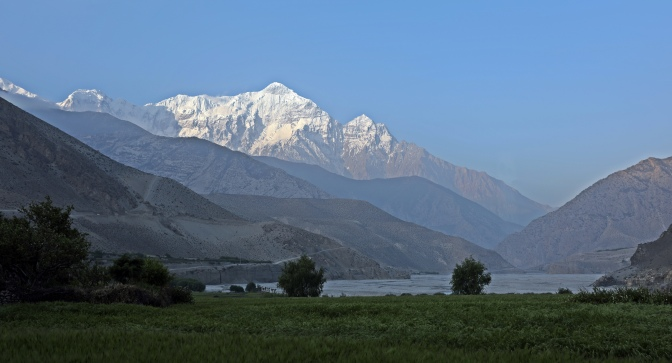 View on Upper Mustang Trek