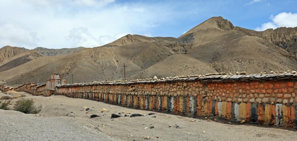 Longest Mani Wall in Nepal