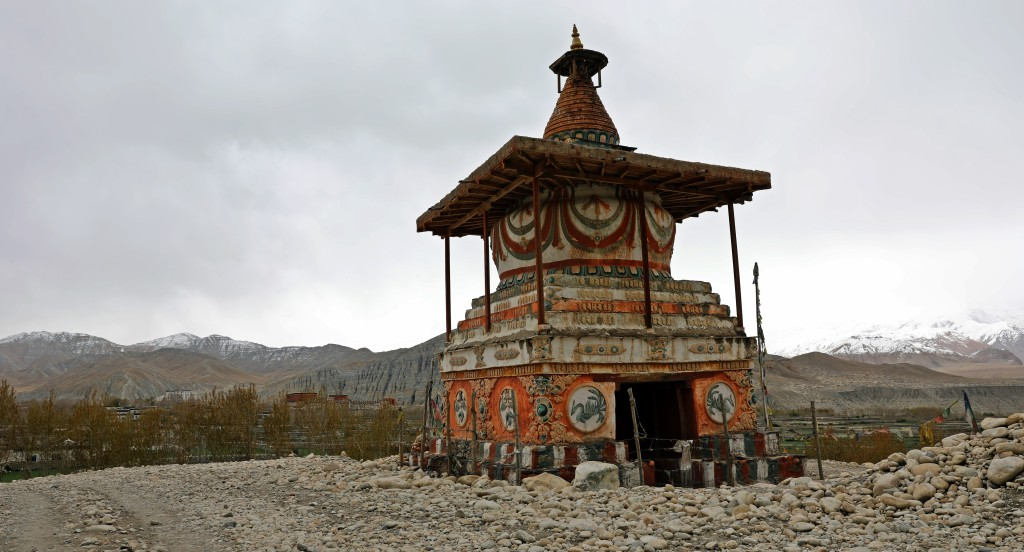 Entrance to the village of Charang