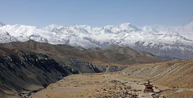 Chorten on the Upper Mustang trek