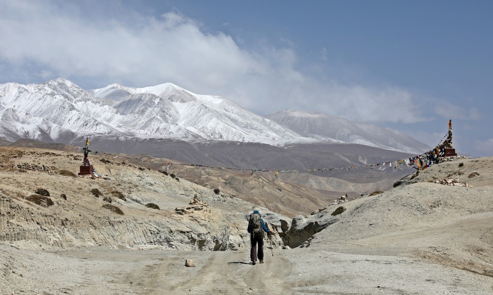 Trekking into Lo Manthang