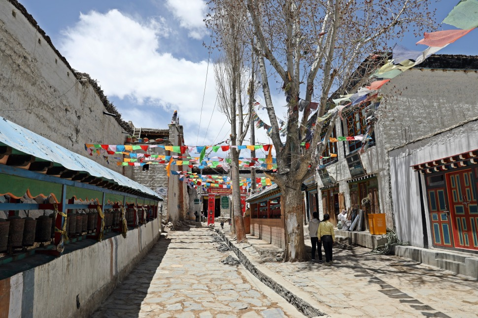 Streets of Lo Manthang