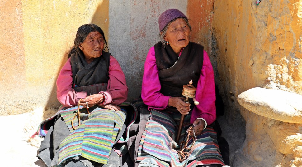 Lo Manthang women