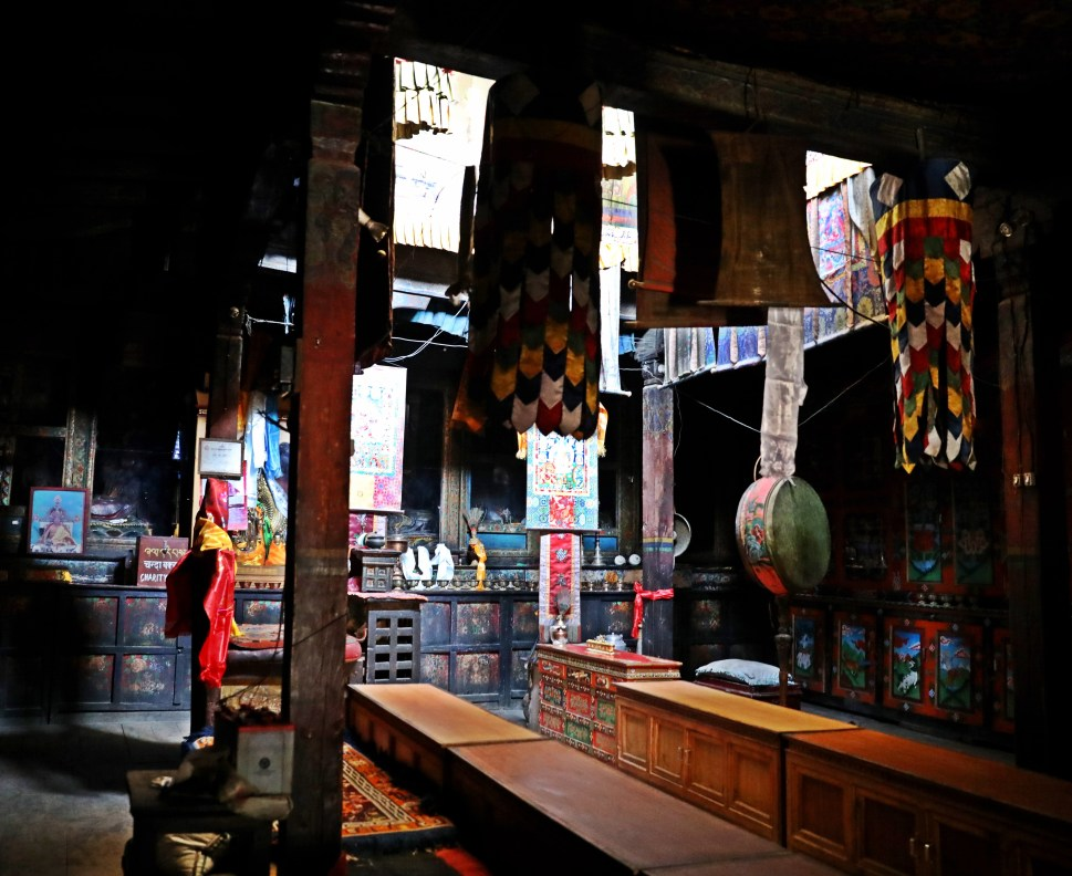 Inside Lo-Gurfa Gumba