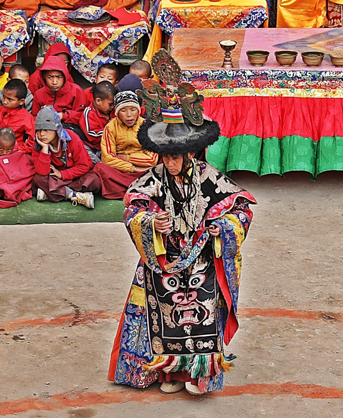 Lead dancer, Tiji Festival, Lo Manthang