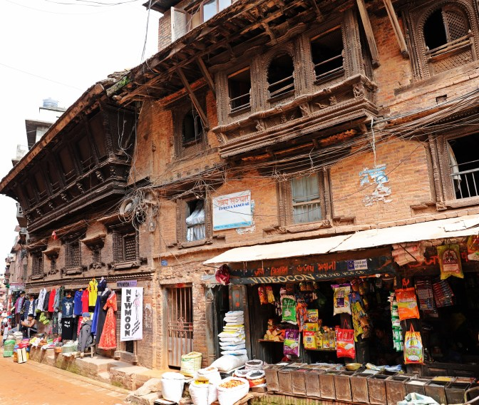 Newari architecture in Bhaktapur