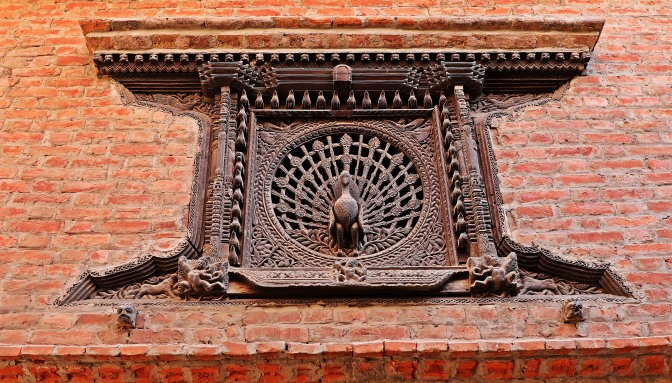 Peacock window, Bhaktapur