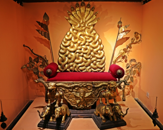 King's Throne, Patan Museum