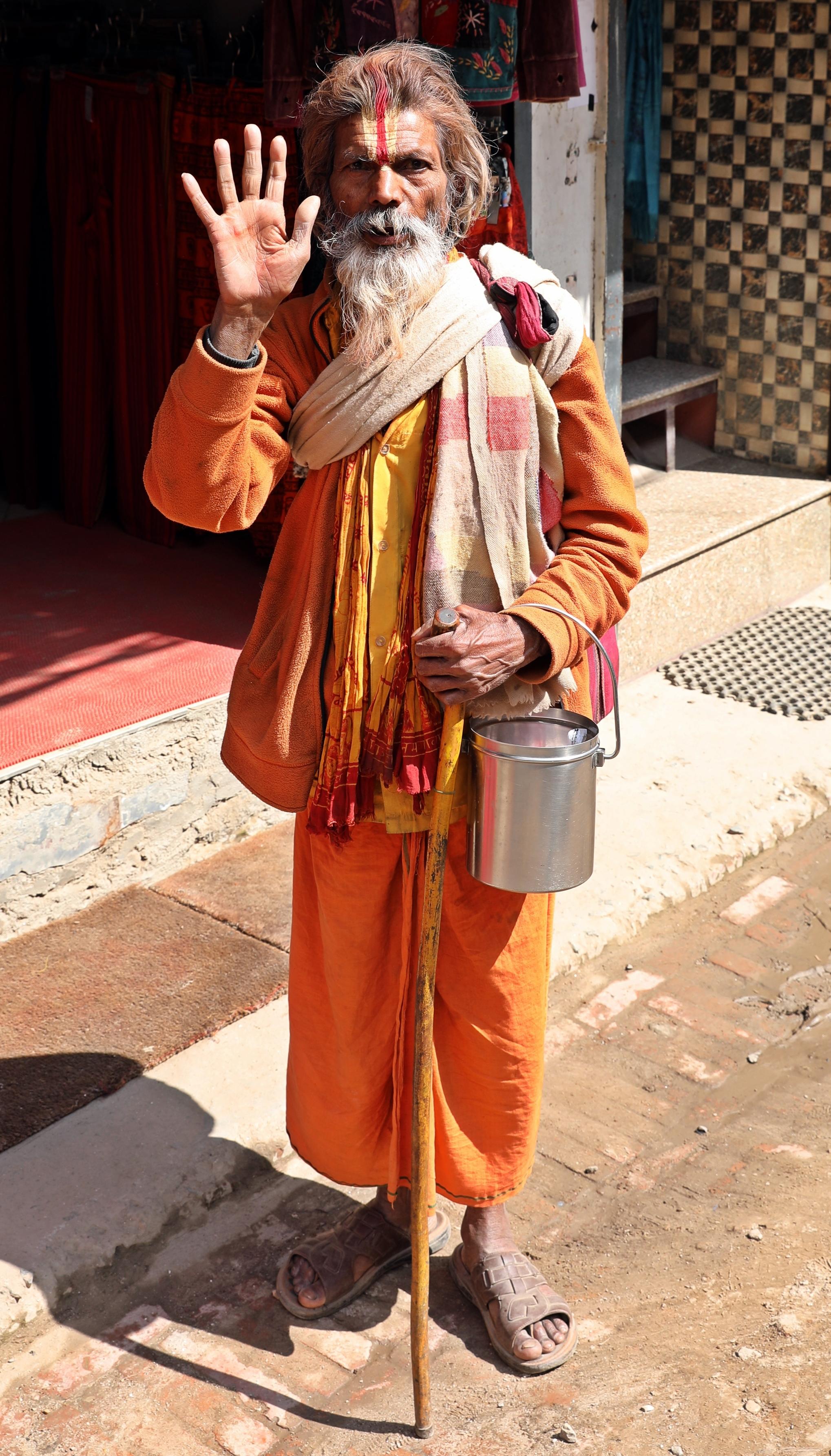 Sadhu, Kathmandu