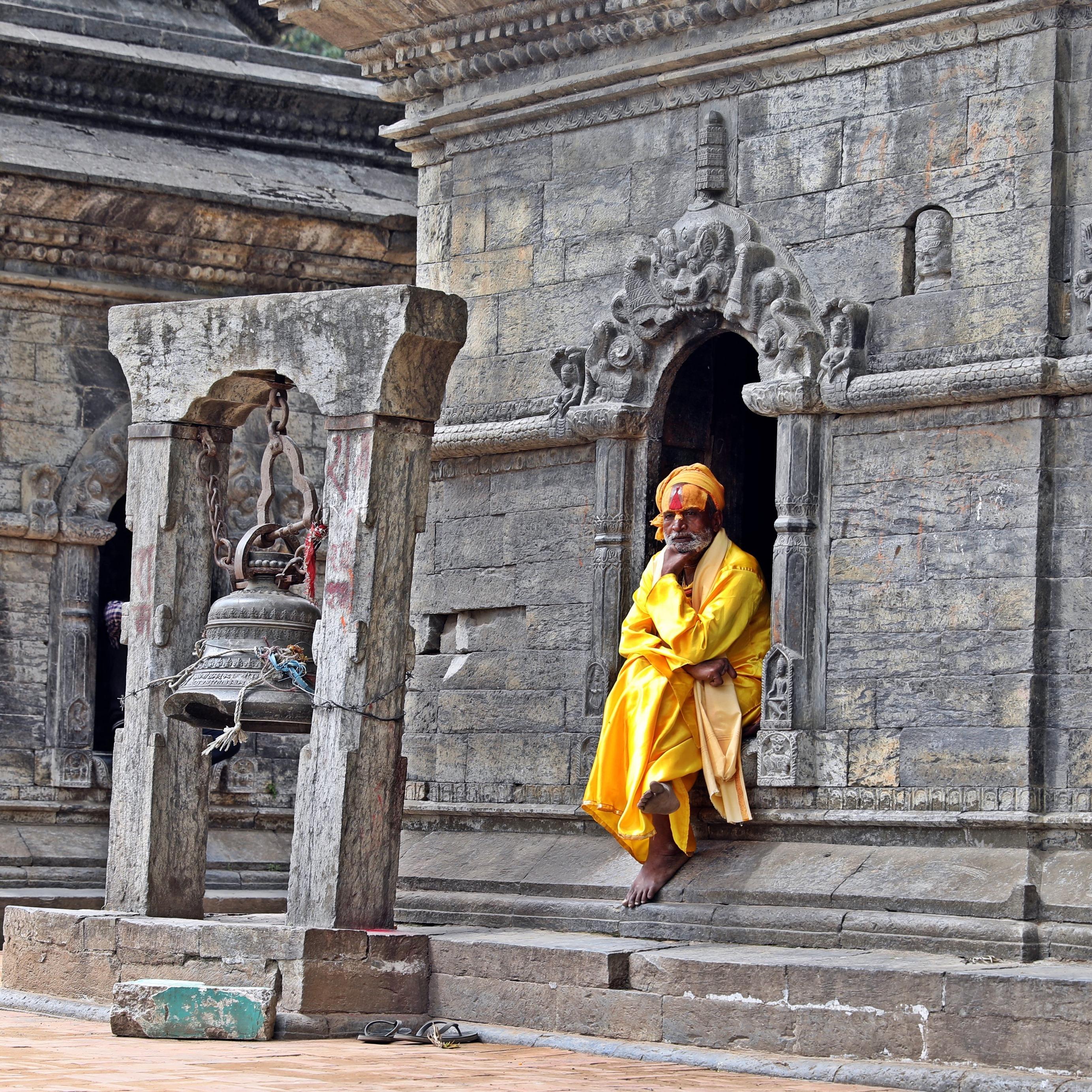 Sadhu at Pashupatinath, Kathmandu