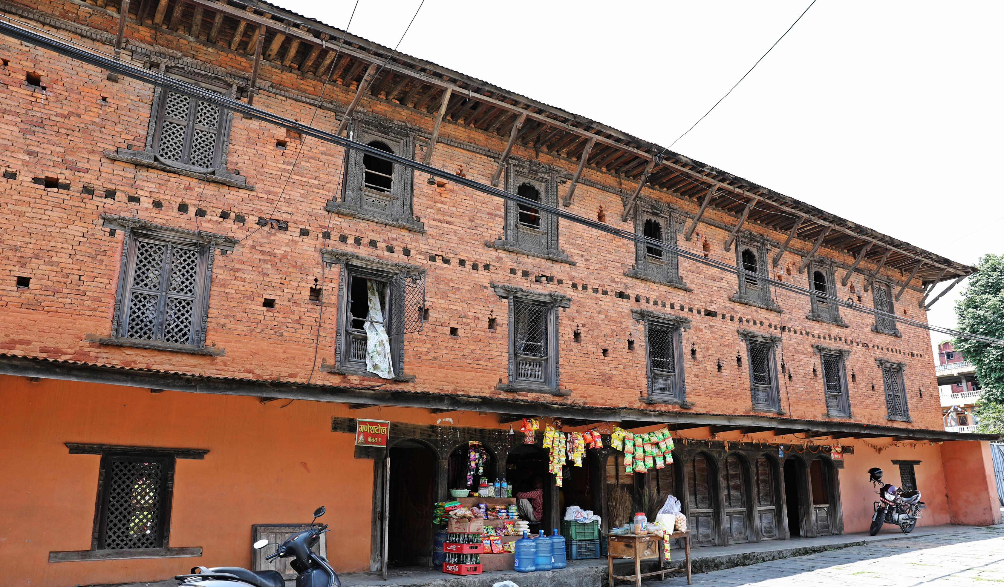 Newari architecture in Pokhara
