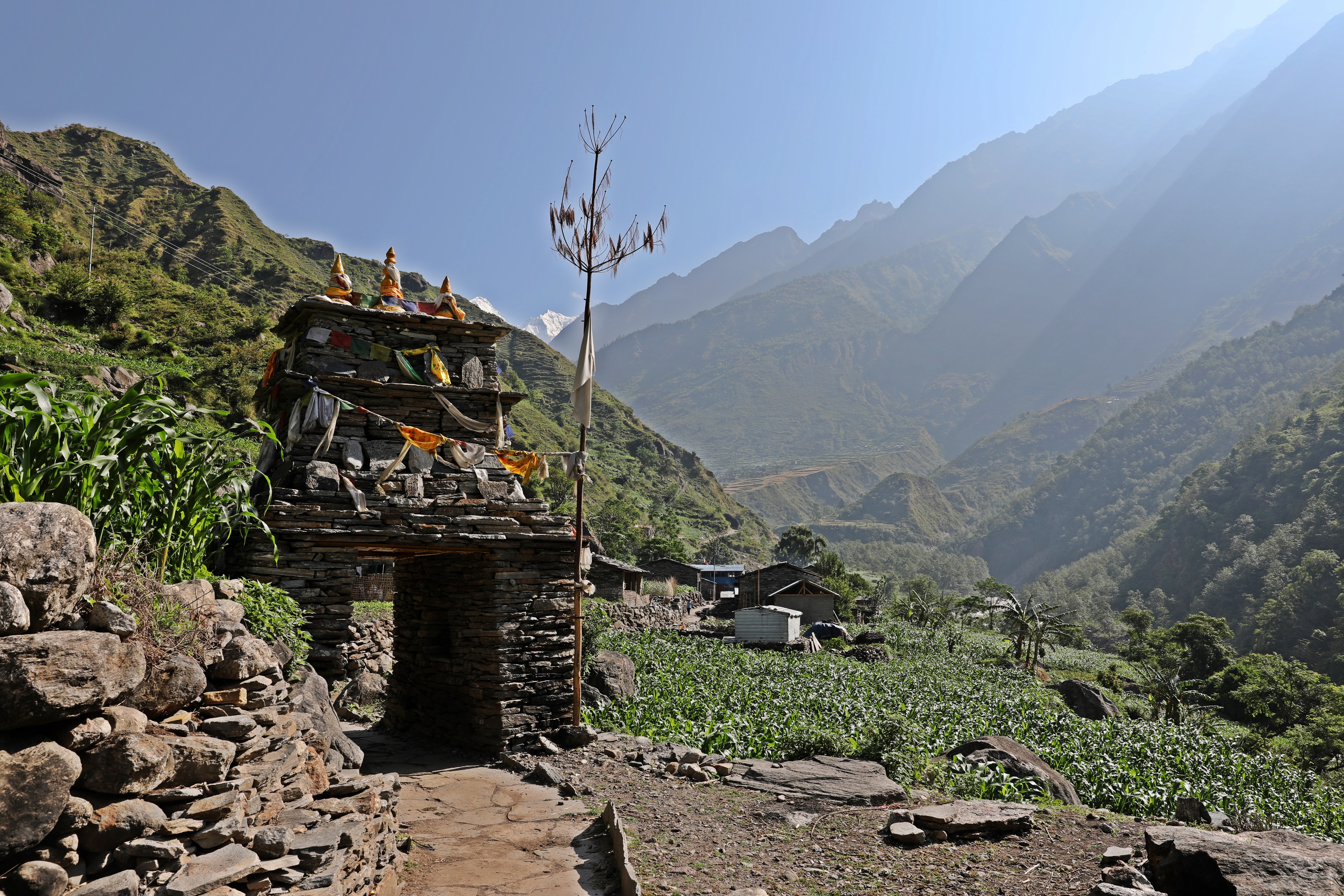 Kani on the Manaslu Circuit Trek