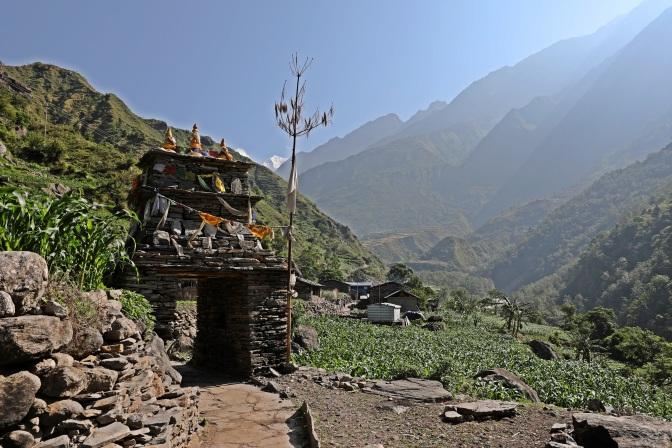 Kani on the Manaslu Circuit Trek