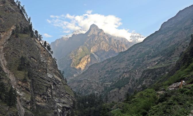 Sringi Himal and the Buri Gandaki