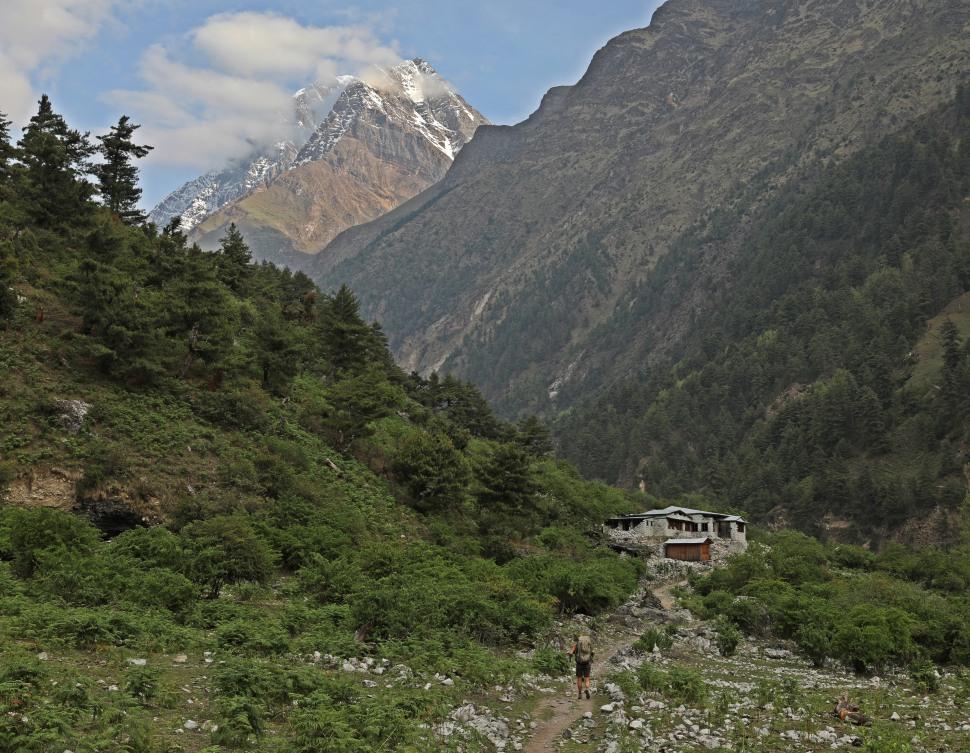 Sringi Himal and the Buri Gadaki Valley