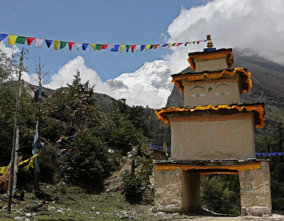 Kani to the village of Shyaula