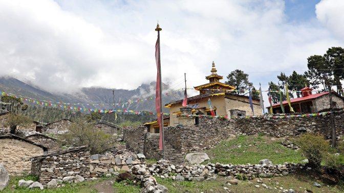 Kargyu Chholing Gompa in Samagoan