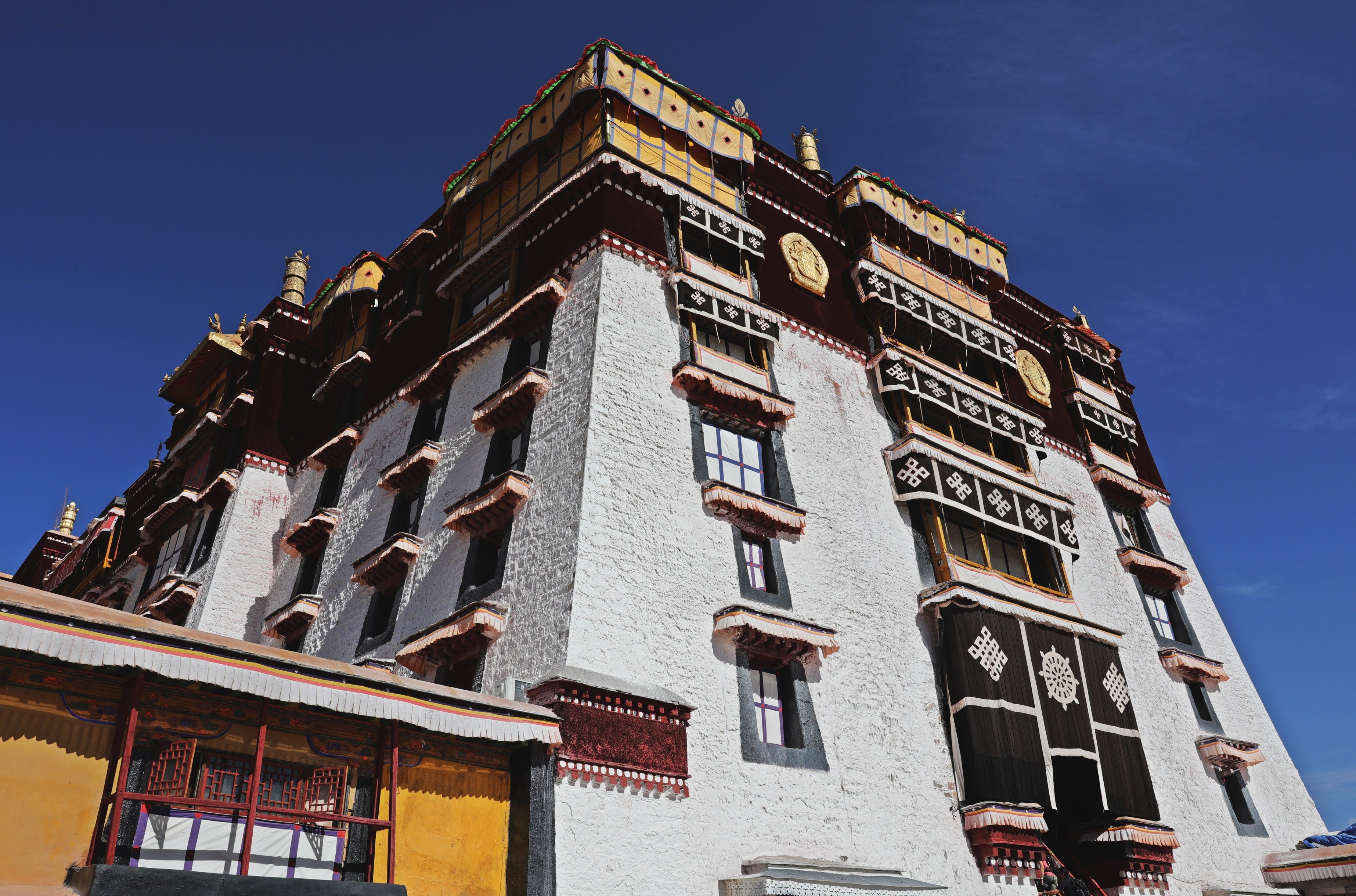White Temple, Potala Palace