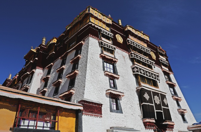 White Palace, Potala Palace