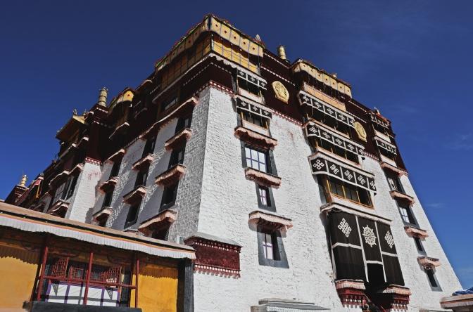 White Temple, Potala Palace