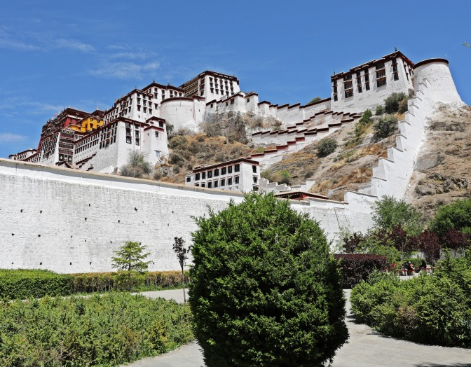 Potala Palace from the Kora