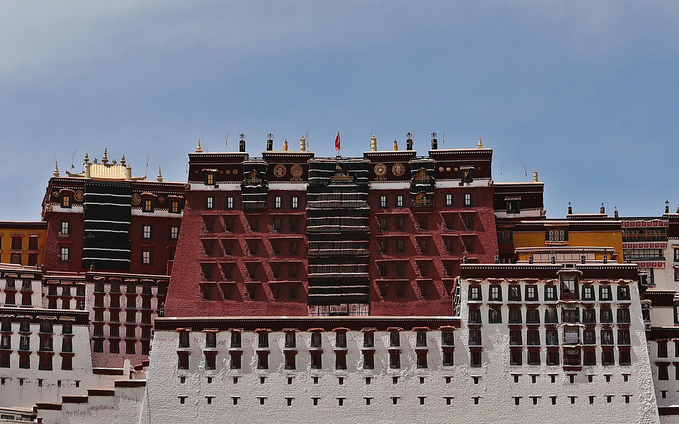 Red Palace, Potala Palace