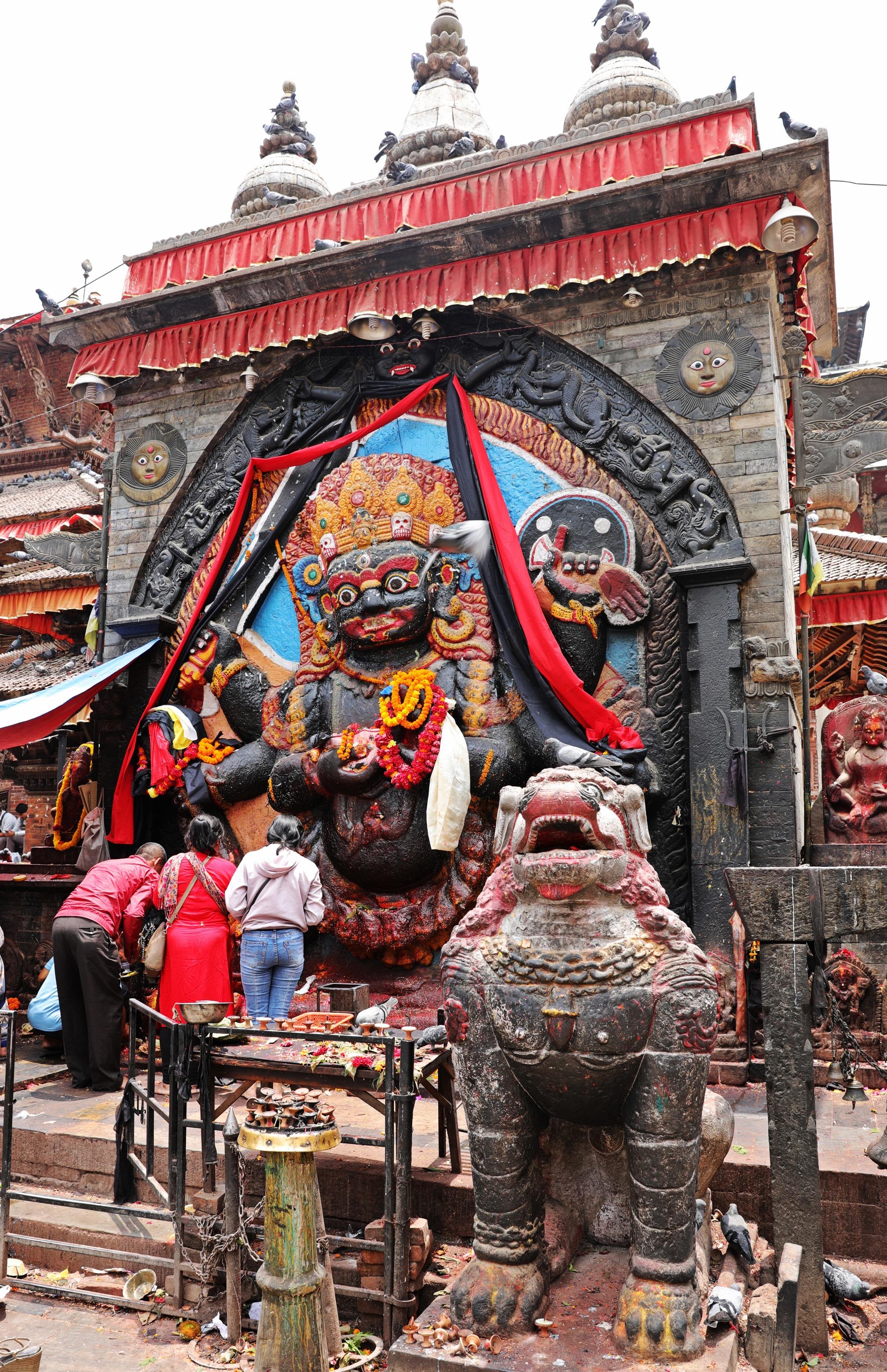 Kali Statue, Durbar Square, Kathmandu