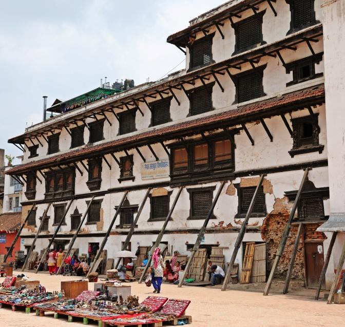 Reparing Durbar Square, Kathmandu
