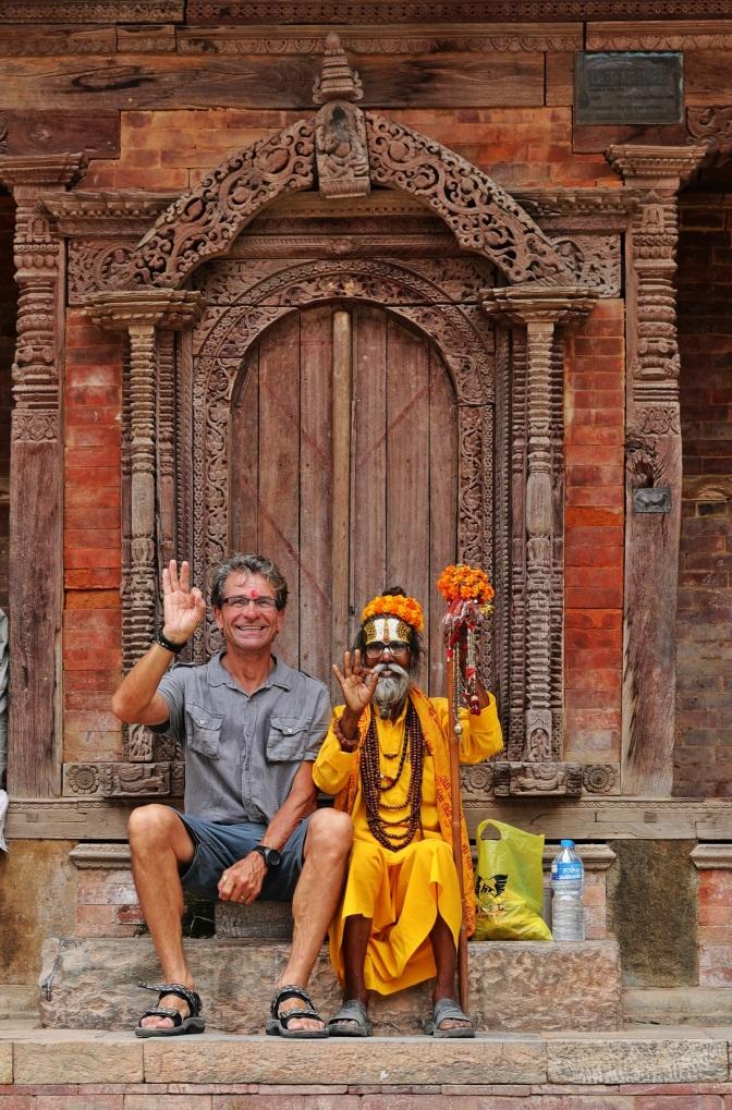 Sitting with a Sadhu, Kathmandu