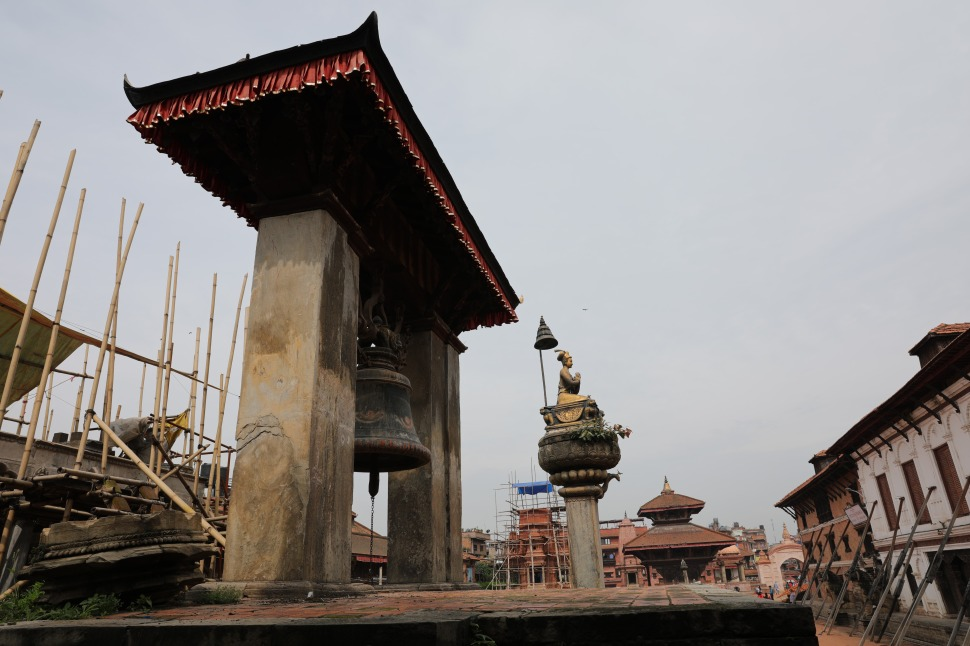 Damaged Durbar Square, Bhaktapur