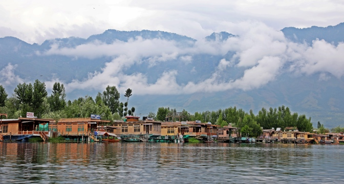 Houseboats on Dal Lake, Srinagar
