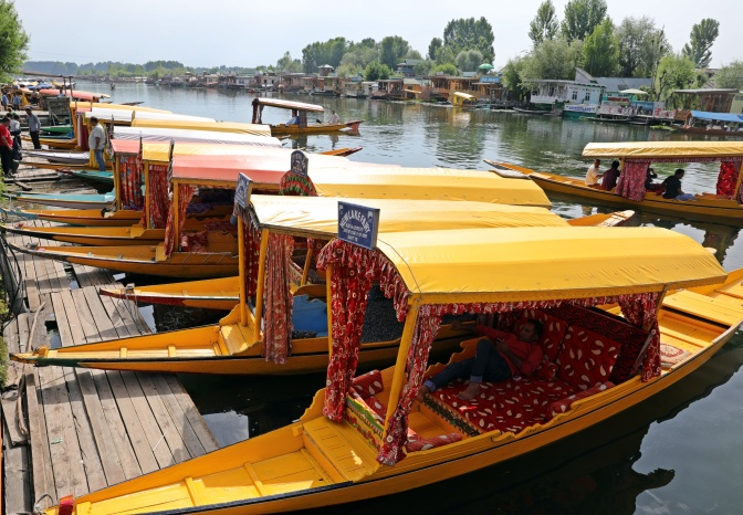 Shakaras on Dal Lake, Srinagar