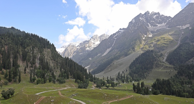 Valley near Sonemarg, Kashmir