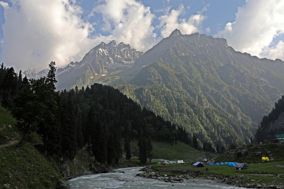 Campsite near Sonemarg, Kashmir