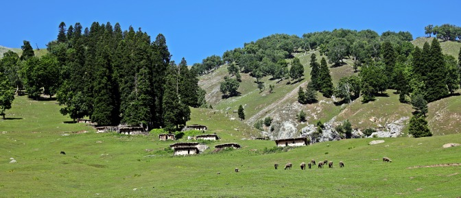 Shepherds' summer huts