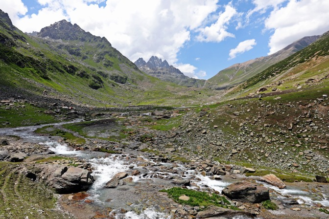 Great Lakes Trek, Kashmir