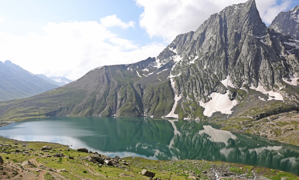 Vishansar Lake, Great Lakes Trek