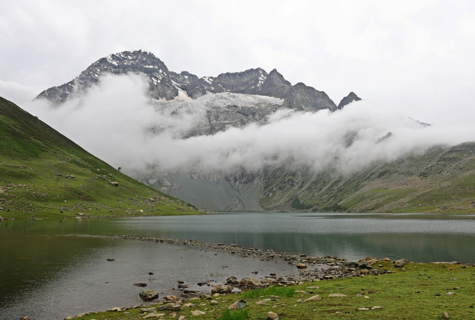 Nadhkol Lake, Great Lakes Trek