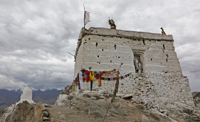 Nezer Latho shrine for Leh's guardian deity