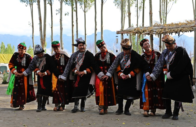 Traditional Ladakhi dance