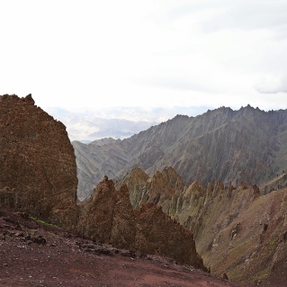 View from Stok La