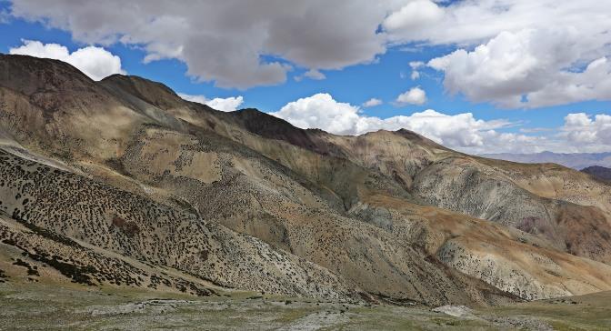 View from Ganda La