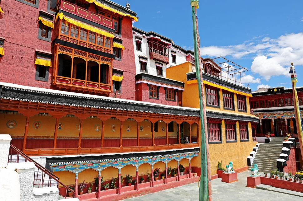 Temple in Thiksey Gompa