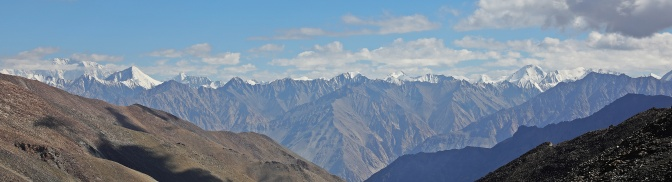 Karakoram Range seen from Khardung La