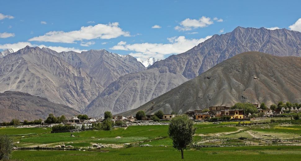 Village of Khardong, Nubra Valley