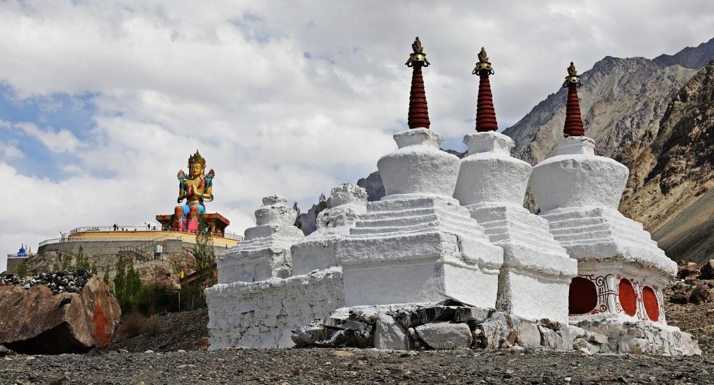 Statue of Future Buddha, DIskit