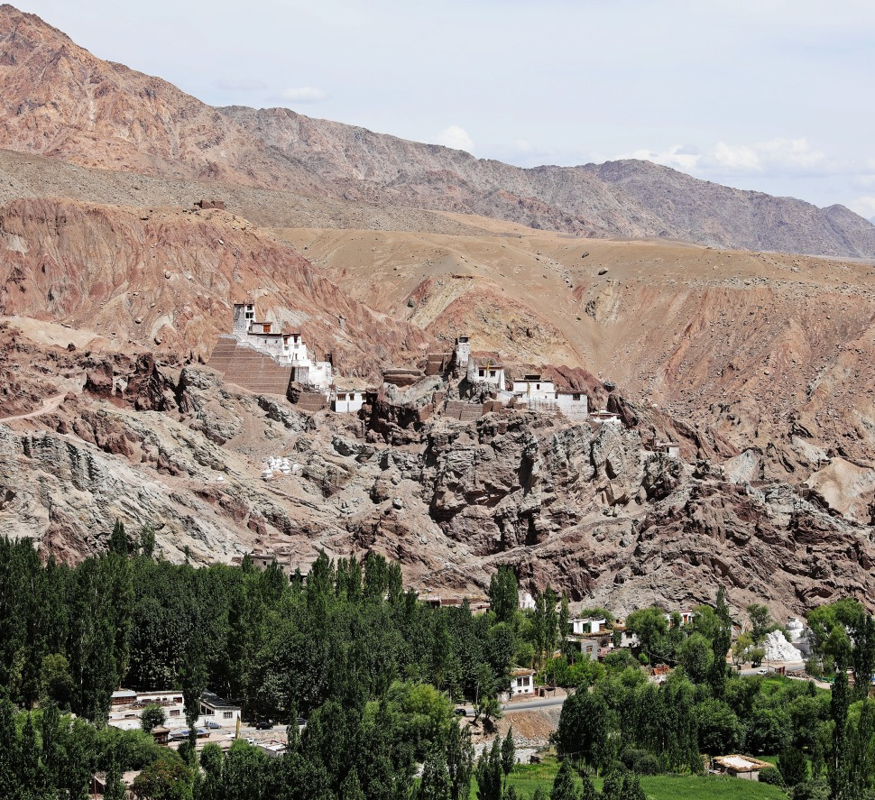 Basgo Gompa and Palace ruins