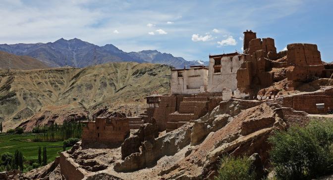 Basgo Gompa and Palace ruins